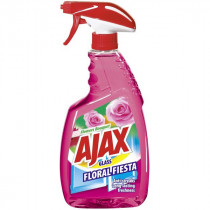 Ajax Glass Floral Fiesta Pink 500ml
